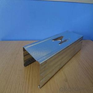 Drywall Galvanized Metal Vertical Channel Stud
