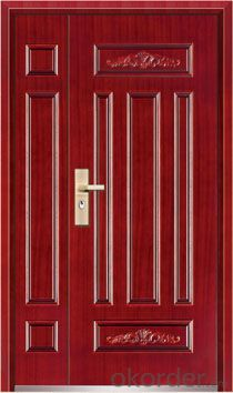 Steel Security Door, Metal Door, Iron Entrance Door  design