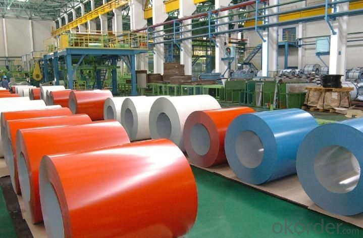 Color Coated Galvanized Steel Coil/PPGL Roofing Sheets