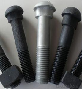 Different Types of Railway Track Bolts and Fasteners