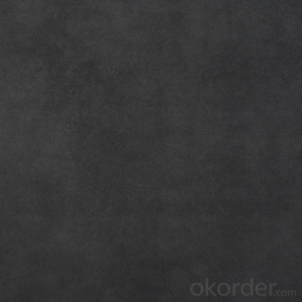 Glazed Porcelain Tile Amore Serie Graphite Black AMGB24
