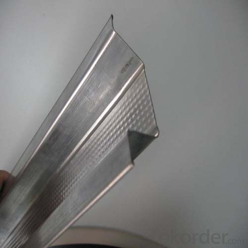 Drywall Galvanized steel perimeter channel