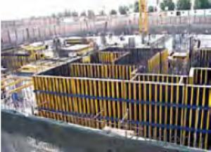 Timber Beam Formwork with Light Weight and Easy Transportation