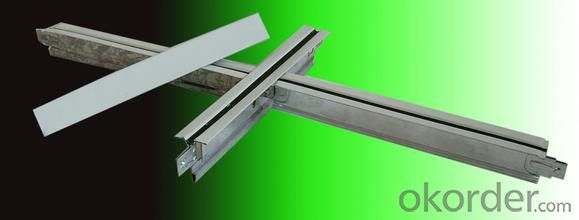Ceiling T  Grid New Design  for Gypsum Board Ceiling tiles System