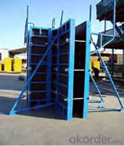 Steel Frame Formwork with High Stiffness and No Assembling