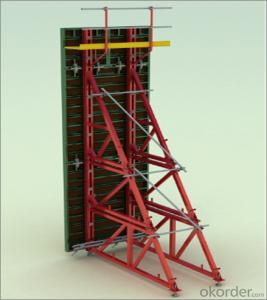 Steel Frame Formwork with Faster and Easy Operation