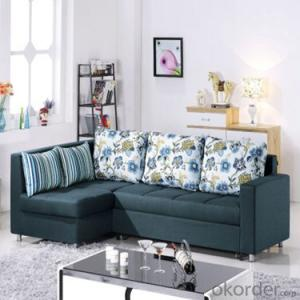 Sofa Sleeper with Fabric Cover or Leather Material