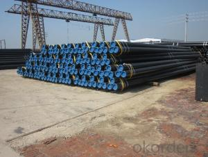 Seamless Black Steel Pipes API5L,GB,ASTM,ASME,DIN