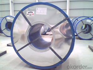 Electrolytic Tinplate in Coils for Cans Packing in good quality