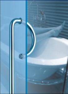 Stainless Steel Glass Door Handle for building /Wooden Door Handle DH108
