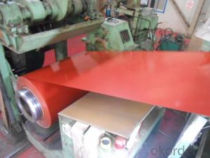 Pre-Painted Galvanized Steel Coil  High Quality Red Color