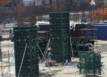 STEEL FRAMED FORMWORK AND ITS ACCESSORIES FOR BUILDING CONSTRUCTION
