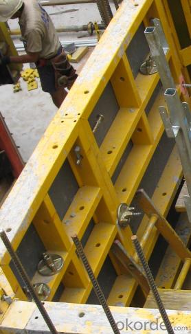 COLUMN STEEL FRAMED FORMWORK FOR LIFTS SHAFT
