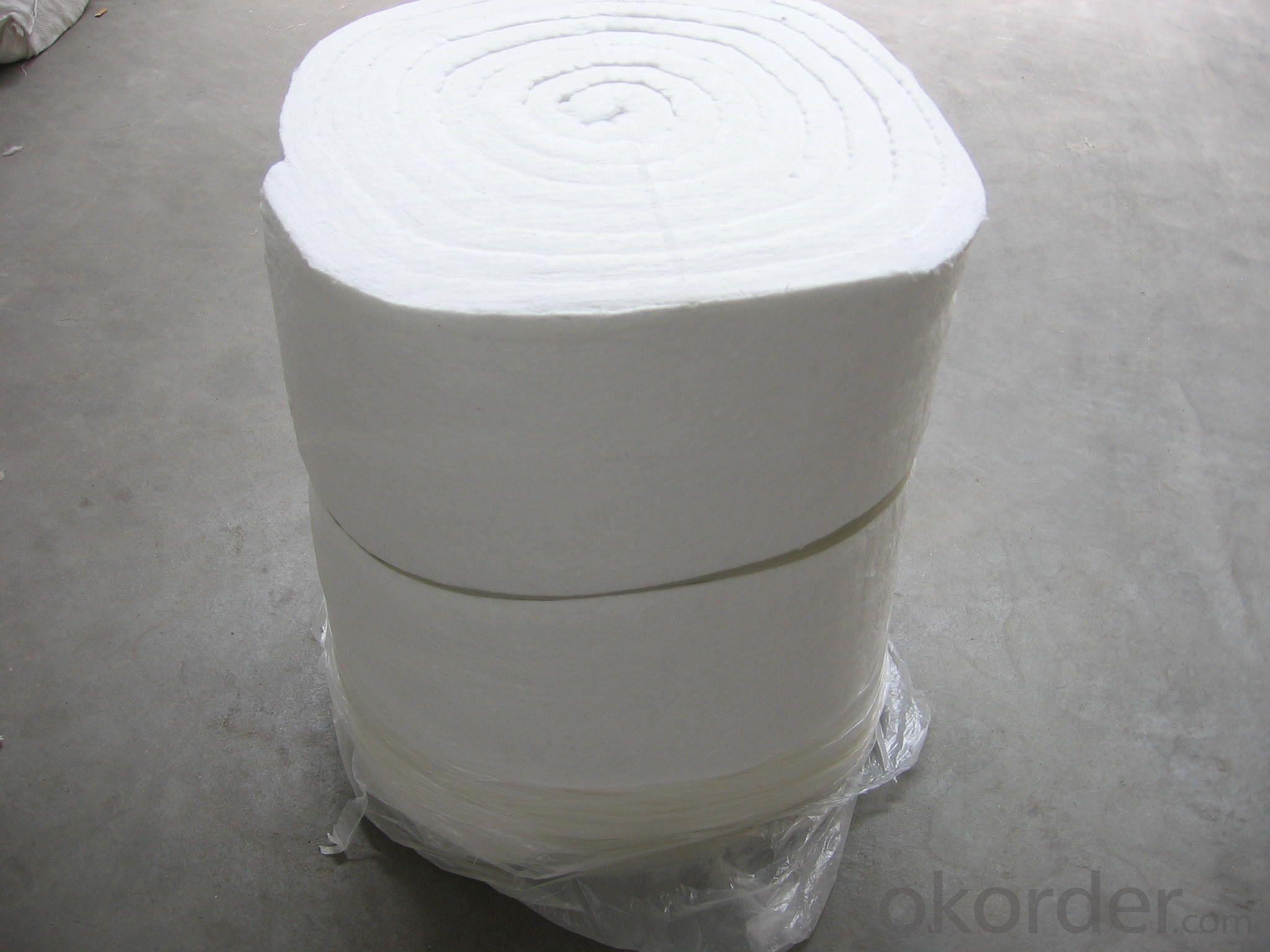 Ceramic Fiber Insulation Blanket HP 1260℃ Furnace Heat Insulation