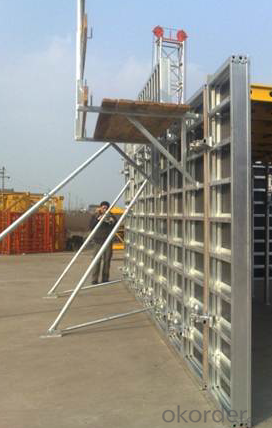 Ring Locked Scaffolding of Easy Storage and Transportation