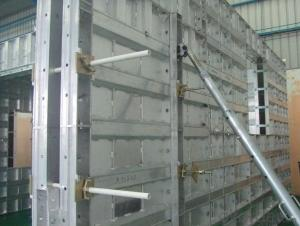 Whole Alumimum Panesl for Wall and Slab Formwork  with Manufacture line