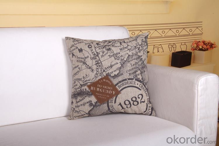 Square Pillow for Home Decoration from China Factory
