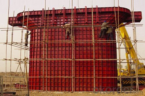 Steel Formwork for High Residential Buildings with Recycling