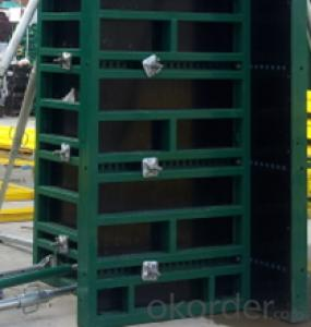 55 SERIAL STEEL FRAMED FORMWORK FOR CONSTRUCTIONS