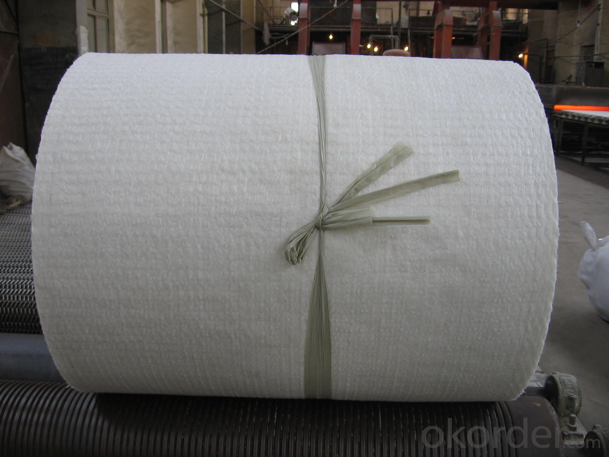 Ceramic Fiber Insulation Blanket 1350℃ Furnace Heat Insulation