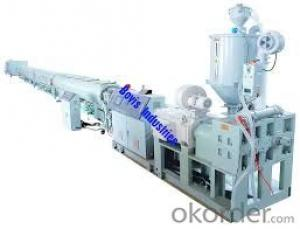 HDPE Water Suppply Pipe, Gas Pipe Energy-saving and High Speed Extrusion Line