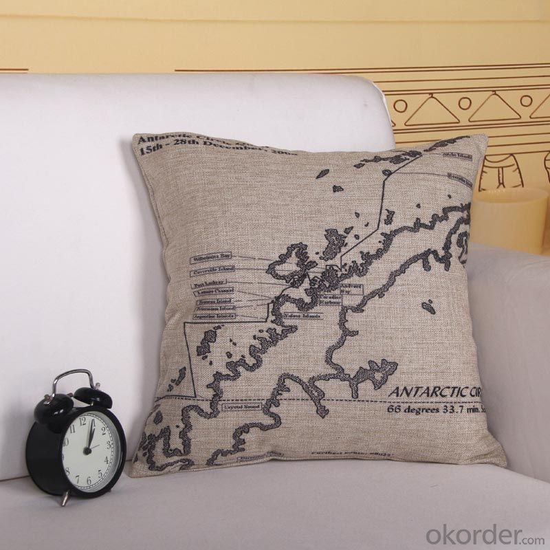 Cheap Square Pillow Cushion Cover  from China Factory with Digital Printing