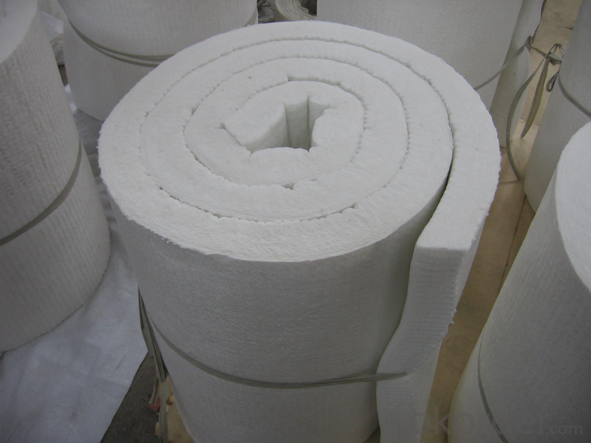 Soluble Ceramic Fiber Insulation Blanket 1260℃ Furnace Heat Insulation