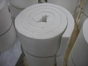 Soluble Ceramic Fiber Insulation Blanket 1260℃ High Temperature Insulation