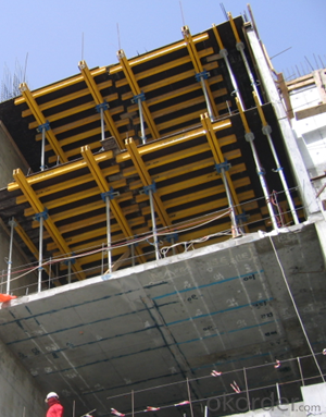 Cup Locked Scaffolding with High Effective Supporting System