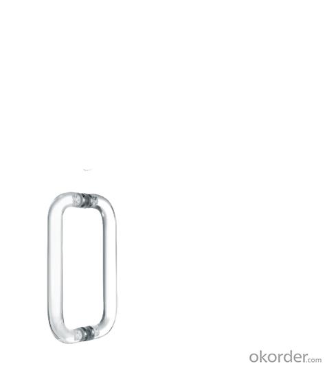 Stainless Steel Glass Door Handle with modern style /Wooden Door Handle DH118