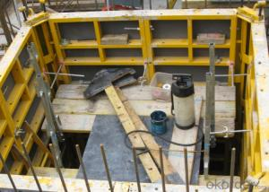 CMAX  120 STEEL FRAMED FORMWORK FOR LIFTS SHAFT