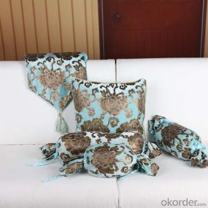 Square Pillow Cushion Cover with Velvet Hot Sale