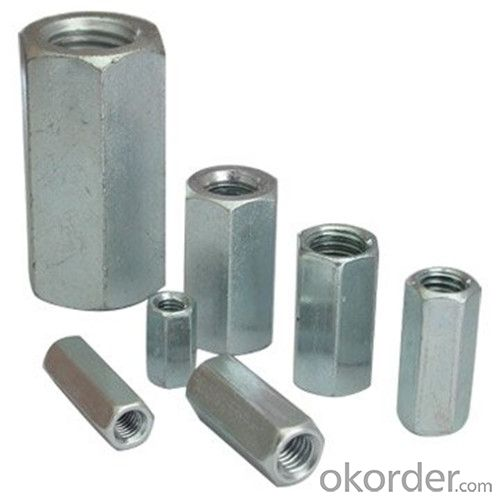 Hex Coupling Nut Factory Price/M3-M36 Best Seller with High Quality