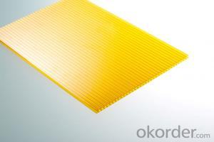 Twin-wall Hollow Polycarbonate Sheet price is reasonable