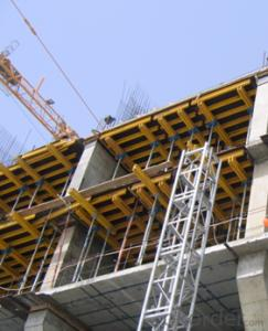 Timber Beam Formwork with Length Adjustment Application