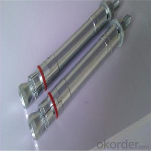 Galvanized Sleeve Anchor Bolt High Quality with Good Price