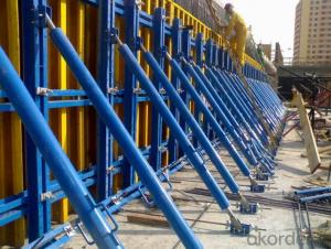 Timber Beam Formwork with Walkway Bracket and Platform