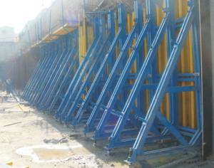Ring Locked Scaffolding with Flexible Structure