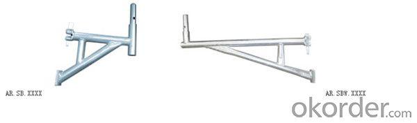 Steel Ringlock Scaffolding Bracket/ Side Bracket with HDG CNBM
