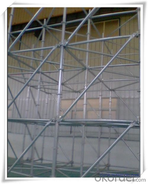Steel Ringlock Scaffolding System with High Quality  CNBM