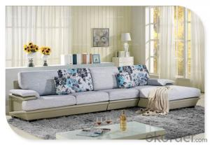 Living Room Fabric Sofa 2015 Latest Modern Design