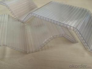 Corrugated Polycarbonate Sheet, PC sheet,
