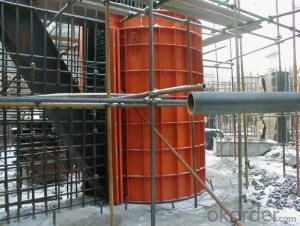 Steel Frame with Easy Operation Formed Formwork