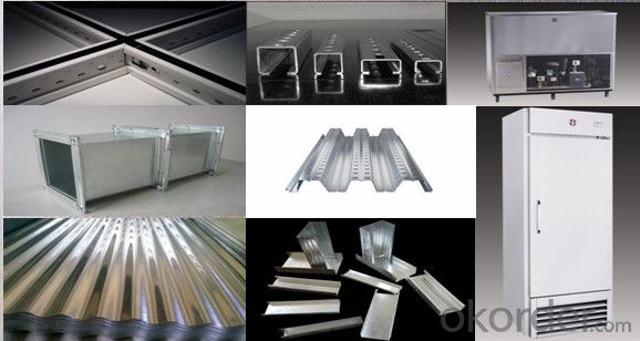 Hot-dip Zinc Coating Steel Building Roof Walls JISG3302