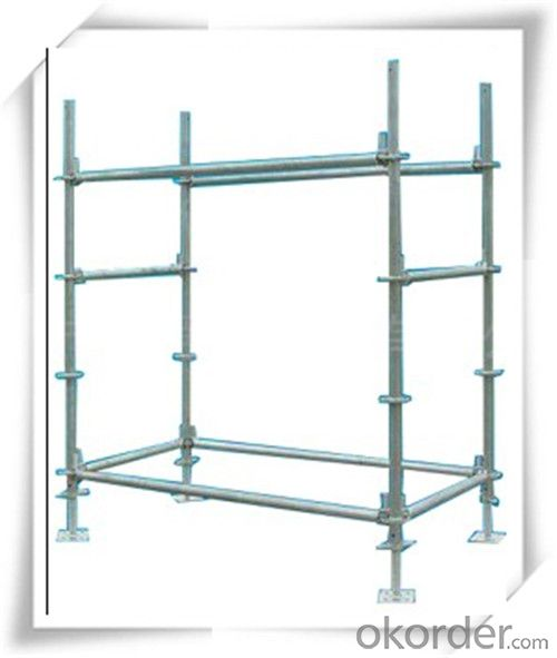 Steel Ringlock Scaffolding System with Q235 Q345 Q195 Steel  CNBM