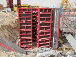 COLUMN 120 STEEL FRAMED FORMWORK FOR LIFTS CONSTRUCTION