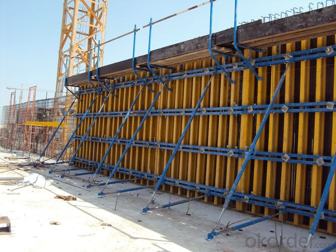 High Load Capacity Flat Formwork with H20 Timber-Beam and WISA Plywood Low Weight