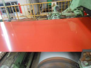 Pre-Painted Galvanized Steel Sheet,Coil in High Quality Red Color