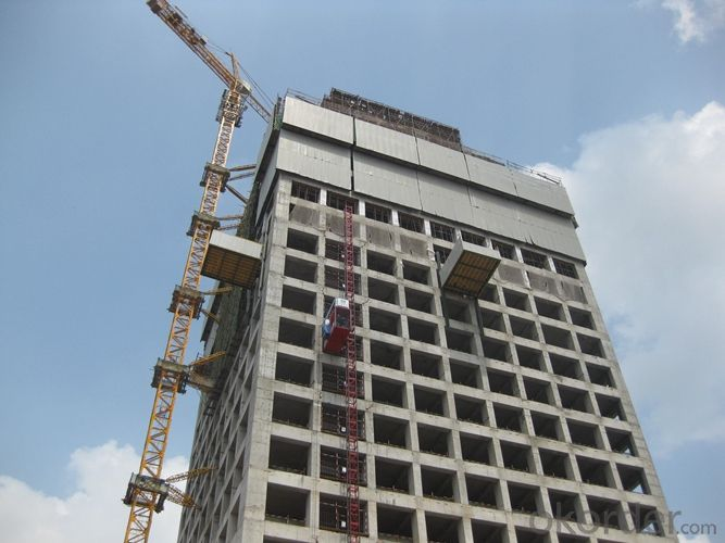 Hydraulic Climbing Protection Panels -New Construction Supporting Serials