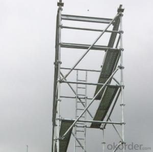 Allround Scaffolding Steel Comply with layher standard CNBM